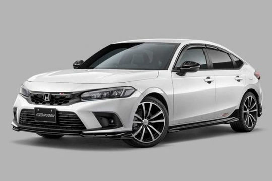 Honda Civic 2022 bổ sung thêm gói độ thể thao Mugen