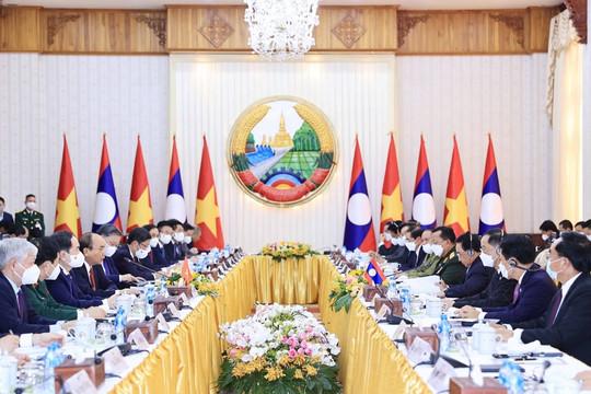 Việt Nam-Lào: Thúc đẩy quan hệ hợp tác kinh tế, thương mại và đầu tư