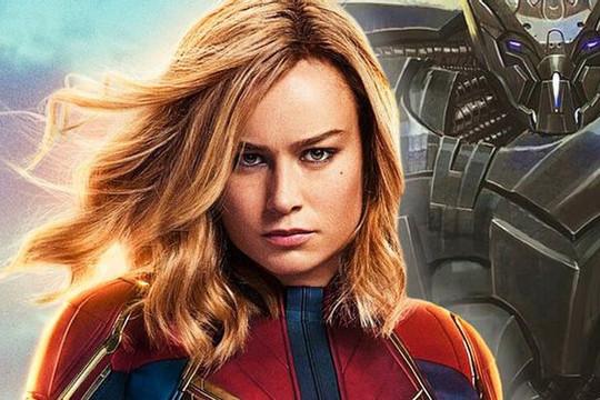 """Brie Larson  tiết lộ """"Captain Marvel 2"""" đã khởi quay"""