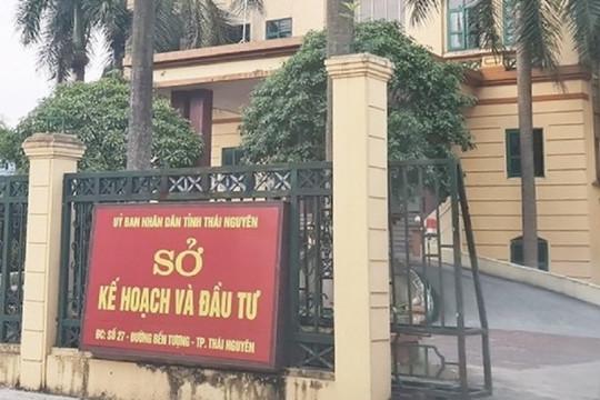 Cách chức Phó giám đốc Sở Kế hoạch và Đầu tư Thái Nguyên