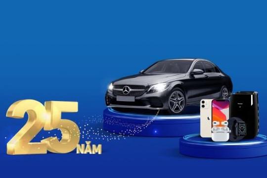 Sở hữu xe Mercedes khi chi tiêu thẻ tín dụng VIB
