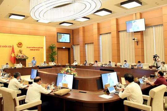 UBTVQH sắp cho ý kiến kiện toàn nhân sự Hội đồng tuyển chọn, giám sát Thẩm phán quốc gia
