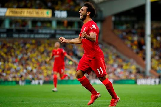 Ghi bàn trong 5 trận mở màn Salah đi vào lịch sử Premier League