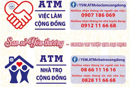 ATM việc làm cộng đồng và ATM phòng trọ hỗ trợ người lao động ở TP. HCM