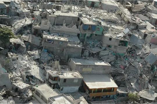 Động đất Haiti: 1.297 người chết, ít nhất 5.800 người bị thương
