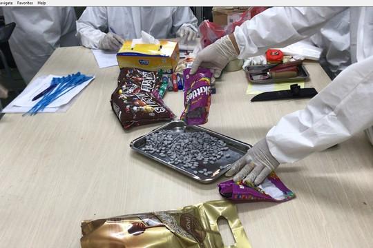 Hải quan TP Hồ Chí Minh bắt giữ hơn 30kg ma túy