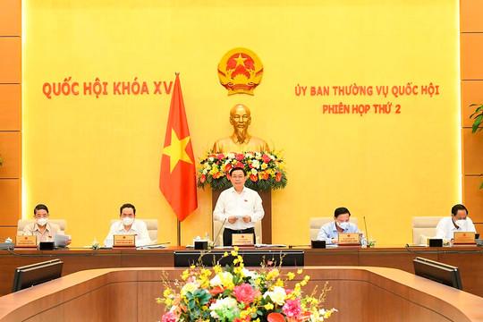 Bế mạc Phiên họp thứ 2 của Ủy ban Thường vụ Quốc hội