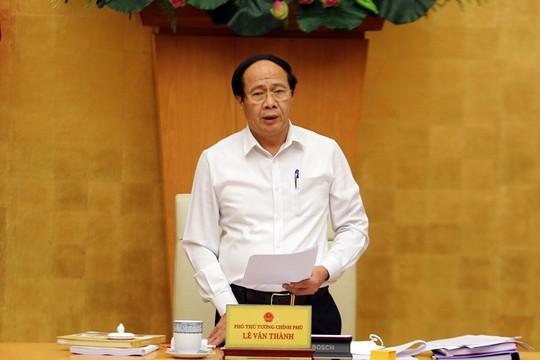 Phó Thủ tướng Lê Văn Thành làm Trưởng Ban Chỉ đạo quốc gia về phát triển điện lực