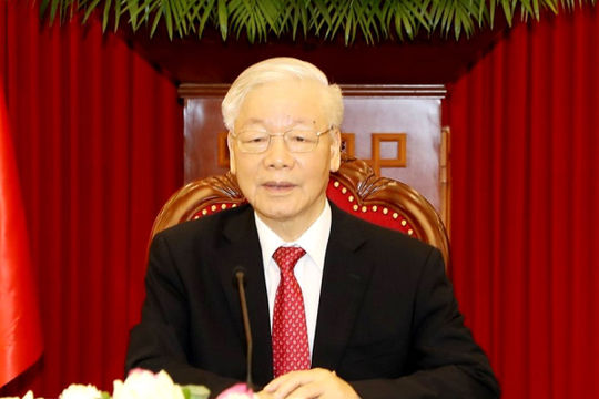 Tổng Bí thư: Cấp ủy, người đứng đầu cấp ủy phải là chiến sĩ kiên cường trong chống dịch