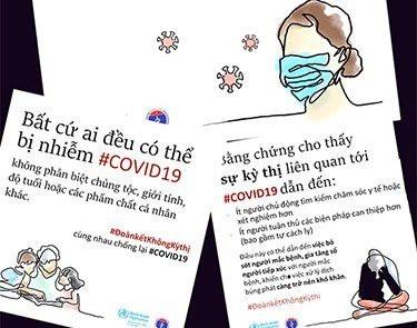 Không kỳ thị với người nhiễm COVID – 19