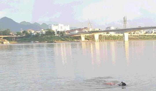 Nam thanh niên đuối nước tử vong khi đi tắm ở Sông Đà