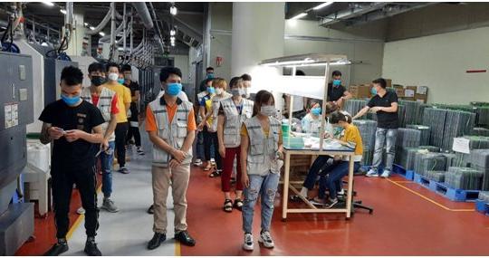 Bắc Giang: Vận động người lao động không nghỉ lễ Quốc khánh 2/9 để phòng chống dịch