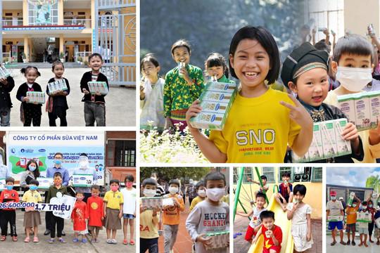 """Vinamilk tiếp nối chiến dịch bạn khỏe mạnh, Việt Nam khởi mạnh với dự án """"Vùng xanh hy vọng"""""""