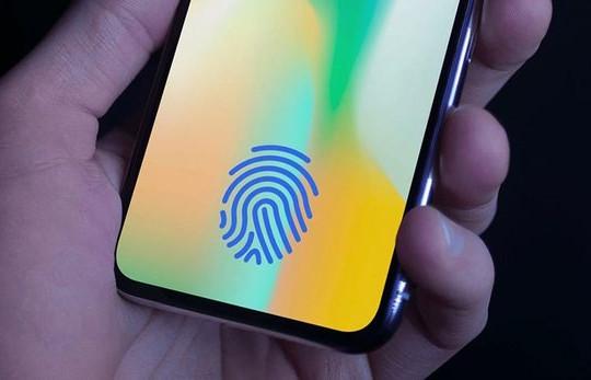 iPhone sắp có Touch ID dưới màn hình