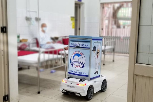 Đưa robot vào điều trị bệnh nhân Covid-19 nặng tại TP.HCM