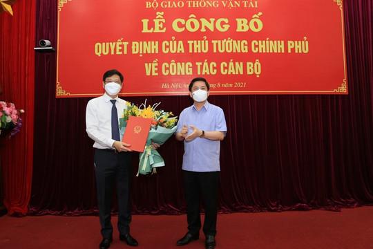 Tân Thứ trưởng GTVT Nguyễn Xuân Sang chính thức nhận quyết định bổ nhiệm
