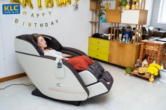 Ghế massage KLC - giải pháp chăm sóc sức khỏe không thể thiếu hiện nay