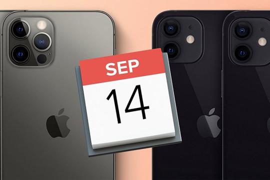 Lộ thông tin ngày ra mắt iPhone 13