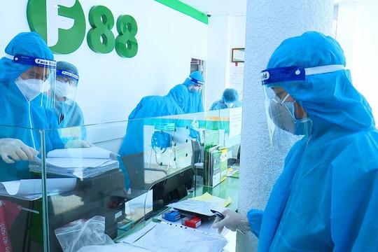 Công an khám xét chi nhánh Công ty F88 liên quan đến việc làm lây lan dịch bệnh tại Bạc Liêu