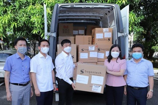 Sun Group cùng nhiều đơn vị tiếp sức cho Thanh Hóa chống dịch