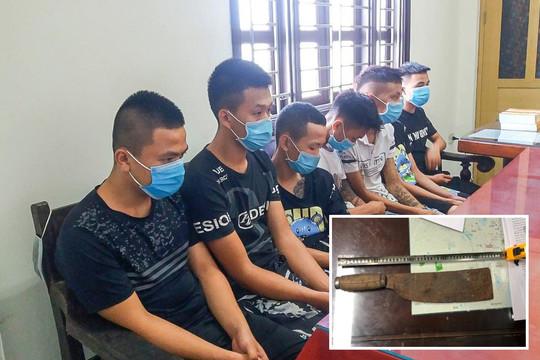 Nhóm thanh thiếu niên từ Thái Bình sang Nam Định cướp tài sản