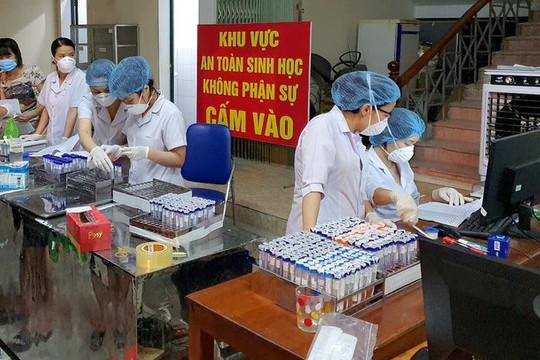 TP Vinh: Hơn 30 ca mắc COVID-19 sau xét nghiệm sàng lọc diện rộng