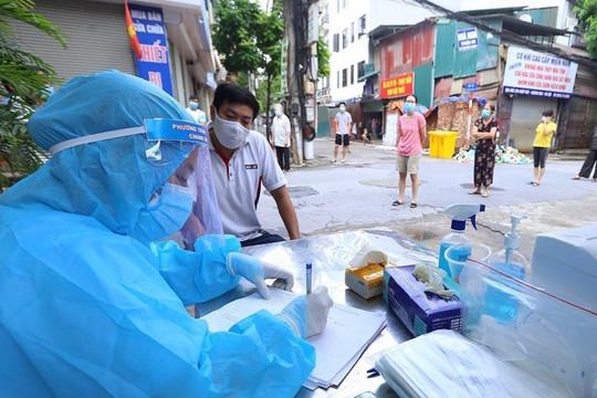 Hà Nội: Nhân viên bán gạo thường xuyên đi giao hàng dương tính SARS-CoV-2