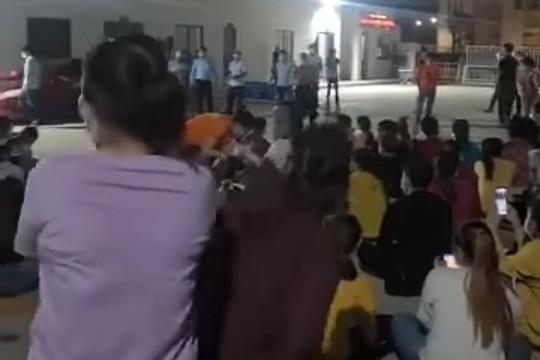 """Công nhân hát karaoke sát """"ổ dịch Covid-19"""" trong KCN VSIP Quảng Ngãi"""
