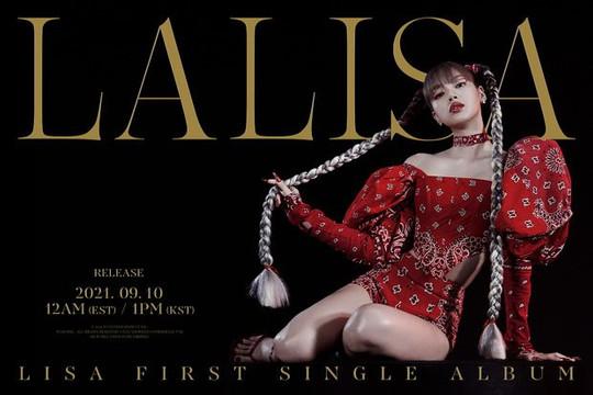 Lisa phá kỷ lục album ở mảng nữ nghệ sĩ solo Kpop