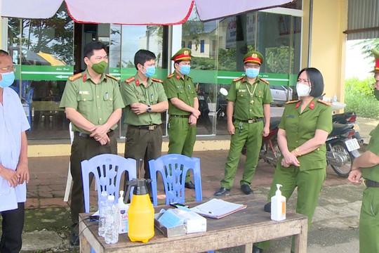 Hàng nghìn chiến sỹ công an Thanh Hóa làm đơn xung phong tuyến đầu chống dịch