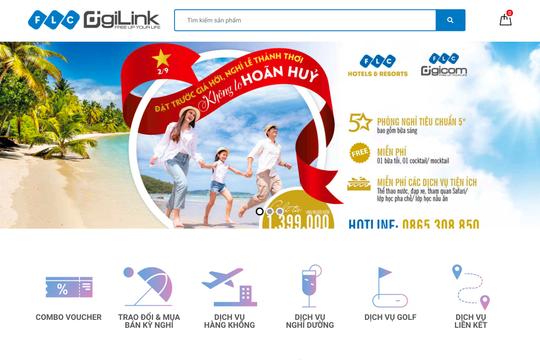 Tập đoàn FLC chính thức ra mắt Sàn giao dịch Thương mại điện tử DigiLink