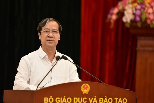 Bộ trưởng GDĐT: Mỗi trường học, cơ sở giáo dục là một pháo đài chống dịch