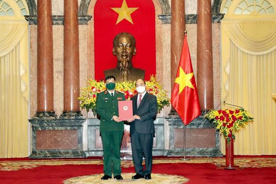 Chủ tịch nước thăng hàm cấp Thượng tướng cho Giám đốc Học viện Quốc phòng