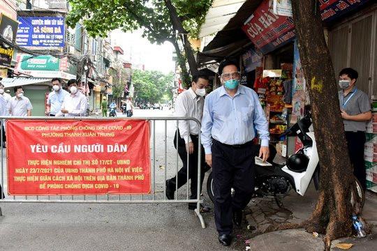 Hà Nội di dời dân tại ổ dịch phường Thanh Xuân Trung