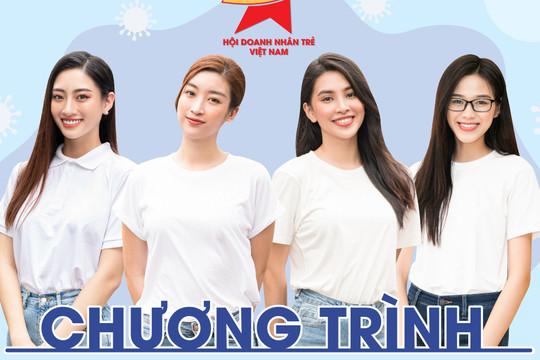 Hoa hậu Đỗ Thị Hà, Mỹ Linh, Tiểu Vy hỗ trợ việc làm cho F0 khỏi bệnh