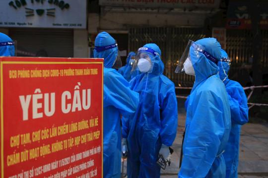 24 giờ qua Hà Nội không ghi nhận ca nhiễm mới trong cộng đồng