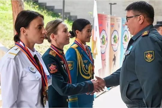 Army Games 2021 lập kỷ lục về số lượng nữ quân nhân tham gia thi đấu