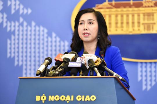 Việt Nam lên tiếng trước việc Trung Quốc thi hành luật giao thông hàng hải