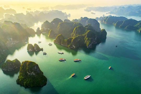 Vịnh Hạ Long lọt top điểm đến hàng đầu thế giới để du khách rời xa mạng xã hội