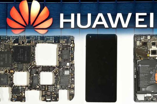 Linh kiện Trung Quốc chiếm 60% trong smartphone mới của Huawei