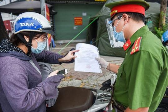 Hà Nội: Xử phạt hơn 1.000 trường hợp vi phạm phòng, chống dịch trong ngày 4/9