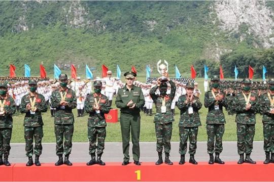 Army Games 2021: Tướng Nga đánh giá như thế nào về thành tích của đội tuyển Việt Nam?