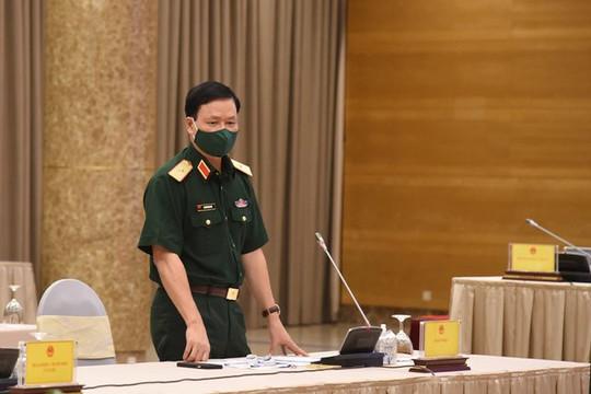 Bộ Quốc phòng đã điều động hơn 120.000 người hỗ trợ TP.HCM