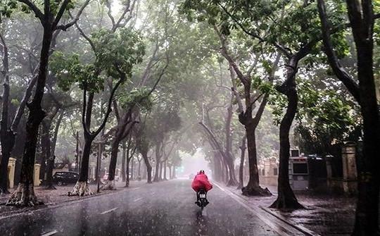 Từ đêm 7 đến ngày 9/9, mưa dông ở các khu vực trên cả nước