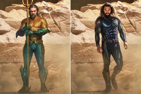 Bom tấn 'Aquaman 2' tiêt lộ hình ảnh mới của Jason Momoa