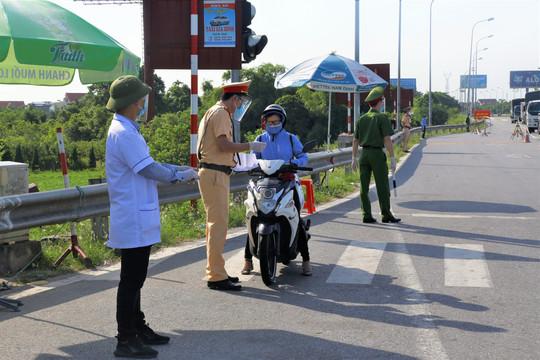 Nam Định: Tiếp tục tạm dừng việc tiếp nhận người về từ các địa phương đang thực hiện giãn cách theo Chỉ thị 16