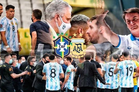 FIFA ra thời hạn giải trình trận Brazil - Argentina