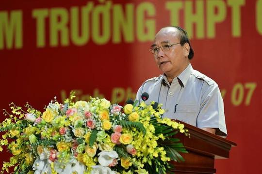 Chủ tịch nước: Thực hiện tốt phương châm trường học an toàn, học sinh tích cực