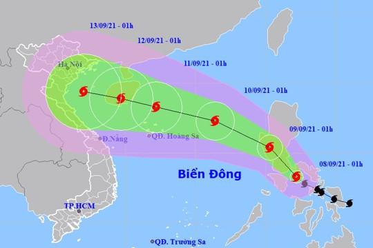 Giật cấp 11, bão Conson đi vào Biển Đông