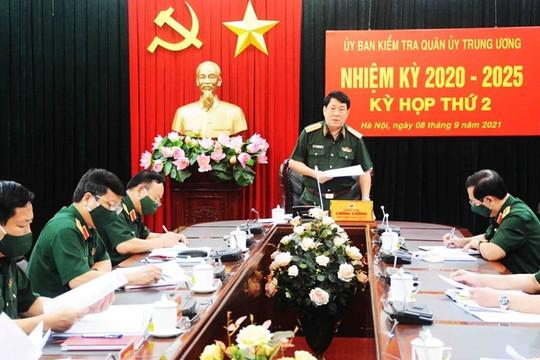 UBKT Quân ủy Trung ương xem xét, đề nghị thi hành kỷ luật quân nhân